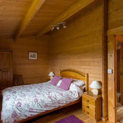 Holly Lodge Double Bedroom