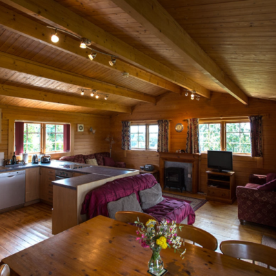 Holly Lodge Kitchen Area