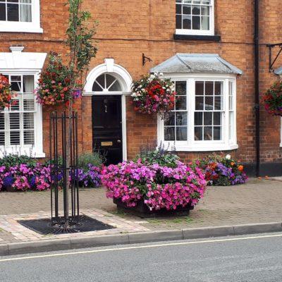 Broad Street floral display