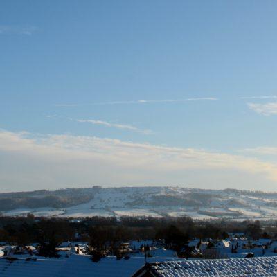 Bredon Hill in Snow