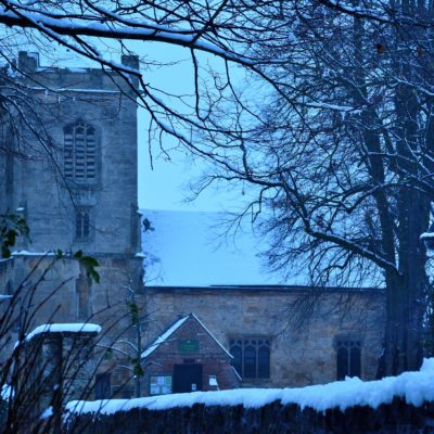 St Andrews in the snow