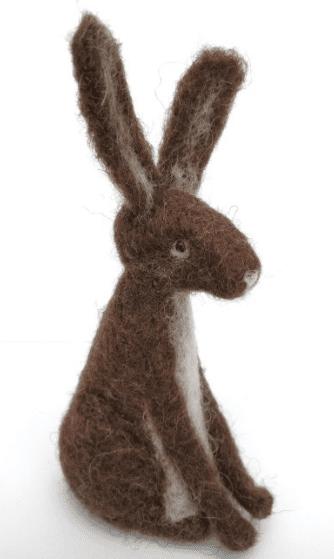 Hare Needle Felting