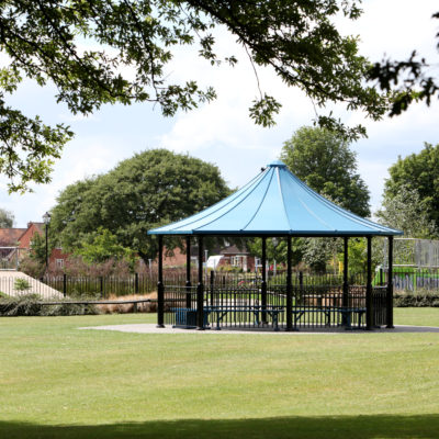 Bandstand in Abbey Park