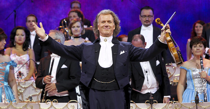 Andre Rieu With Orchestra