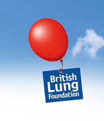 British Lung Foundation Logo And Red Balloon.