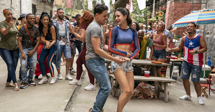 In The Heights Cast Dancing.