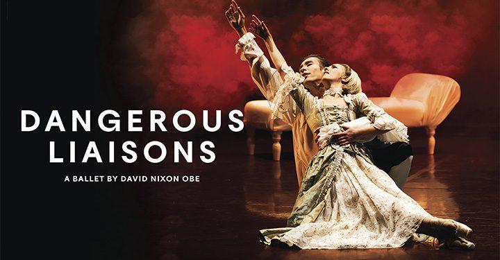 Northern Ballet Dangerous Liaisons Poster