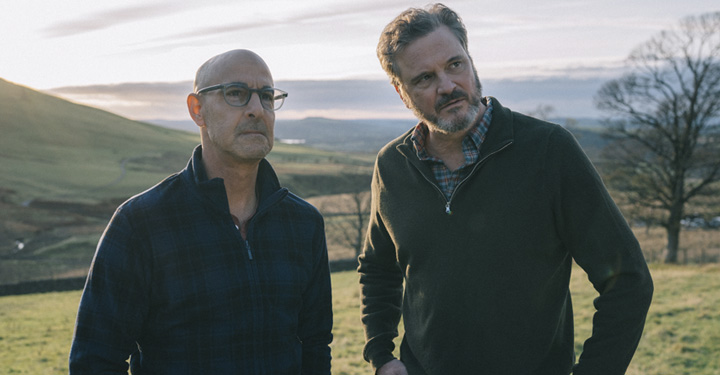 Stanley Tucci And Colin Firth