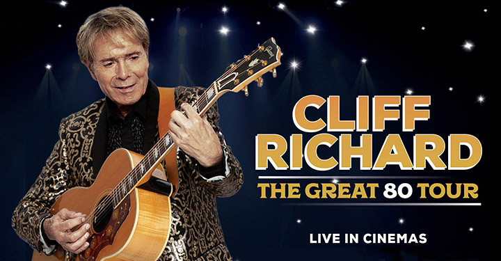 Cliff Richard The Great 80 Tour Poster