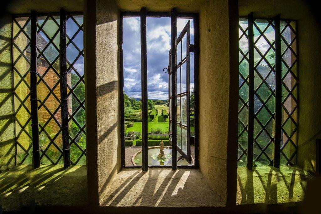 View Of Hellen's Garden From Window.