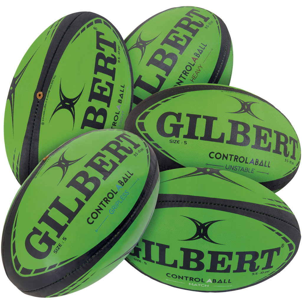 Five Rugby Balls